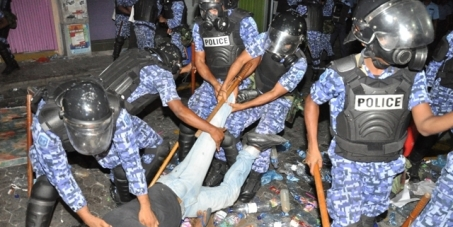 Ensure their rights to the Maldivian people and ensure them fair presidential elections and democratic process.