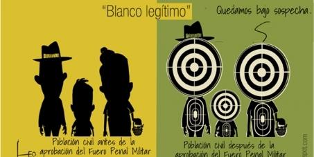 Gobierno colombiano insiste en reformar fuero penal militar. Insiste en profundizar la impunidad