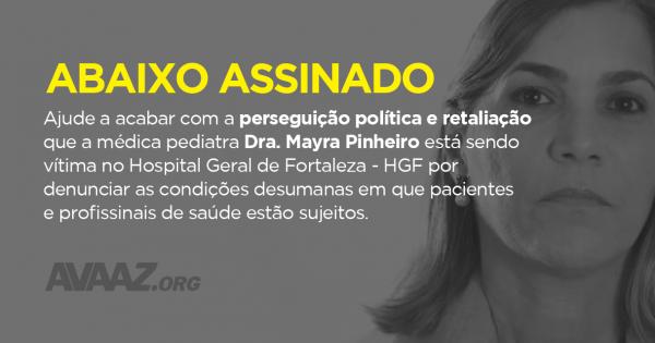 Demissão do Diretor do Hospital Geral de Fortaleza, João Batista Silva, por abuso de poder.