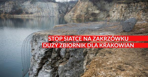 Stop siatce na Zakrzówku!