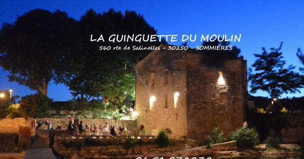 Sauvons La Guinguette Du Moulin A Sommieres Dans Le Gard