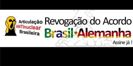 Governos do Brasil e Alemanha: Revogação do Acordo Nuclear Brasil-Alemanha