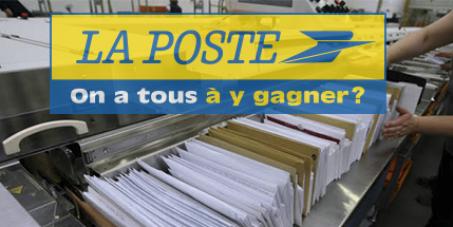 Non à la fermeture du centre de tri postal de Saint-Etienne-Montreynaud