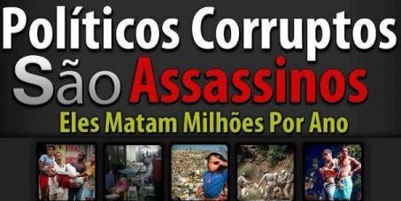 Resultado de imagem para OS CORRUPTOS DO BRASIL