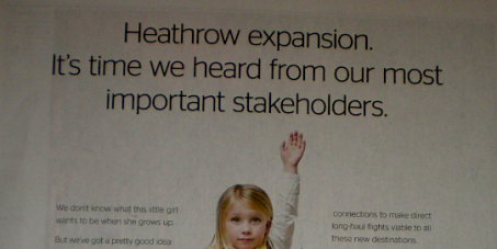 Advertising Standards Authority: Ban Heathrow airport expansion advert