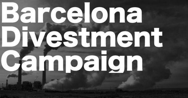 Barcelona: Des-invertir el dinero de lxs trabajadores municipales de los combustibles fosiles.