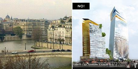 """Say """"No"""" to Skyscrapers in Paris!"""
