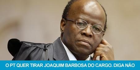 Joaquim Barbosa vai se aposentar!