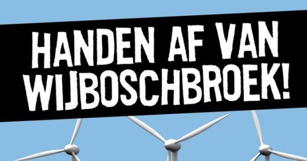 Handen af van Wijboschbroek!