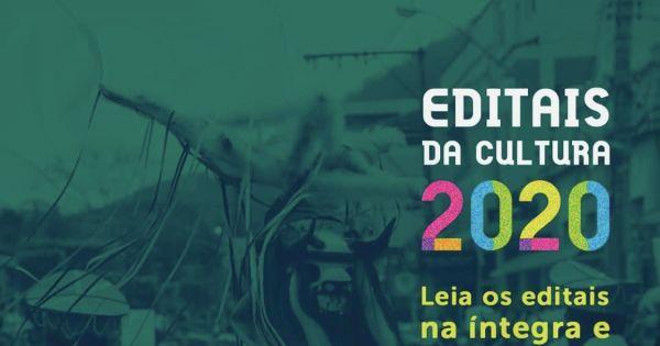 Prorrogação dos prazos para inscrição nos editais 2020 da Secult-ES