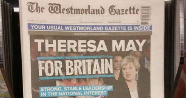 Andrew Thomas, Editor, Westmorland Gazette (Newsquest, a Gannett company): Stop political bias in the Westmorland Gazette