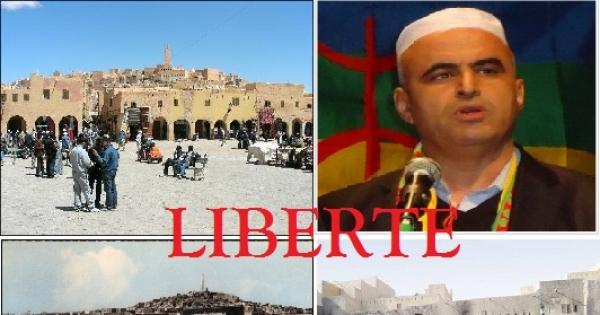 Libération des prisonniers d'opinion du M'zab, le Dr Kameledine Fekhar et ses compagnons