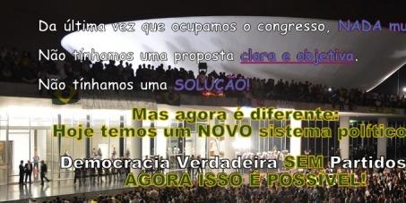 Democracia Verdadeira SEM partidos: Agora Isso é Possível!