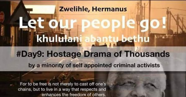 Zwelihle, Hermanus needs OUR HELP!!!