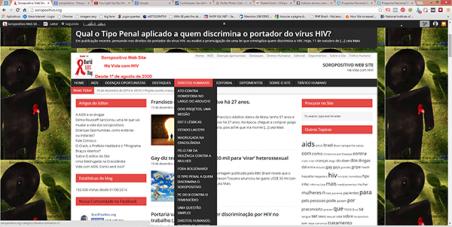 Programa Nacional DST AIDS e Hepatites Virais: Concedam uma verba anual para a manutenção do site soropositivo.org