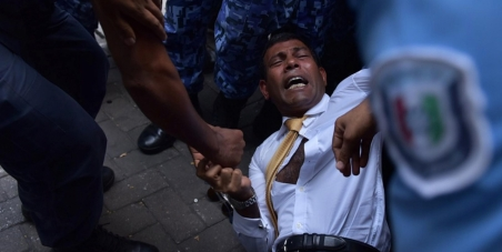 Concerned citizens of the world : Free President Nasheed