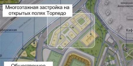 Мэру г. Москвы Сергею Семеновичу Собянину: Отклонить строительство нового элитного ЖК на территории стадиона Торпедо