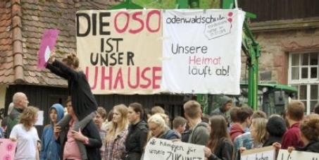 Minister Stefan Grüttner: Rettung der Odenwaldschule.