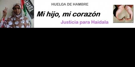 Ministerio de Justicia de la potencia ocupante (Marruecos) y a la MINURSO: Esclarecer el asesinato de Haidala y juzgar a los responsables