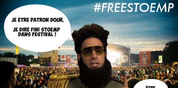 Stand Stoemp - Festival de Dour: Pour sauver le stand Stoemp et qu'on puisse continuer à foutre le bordel l'année procha