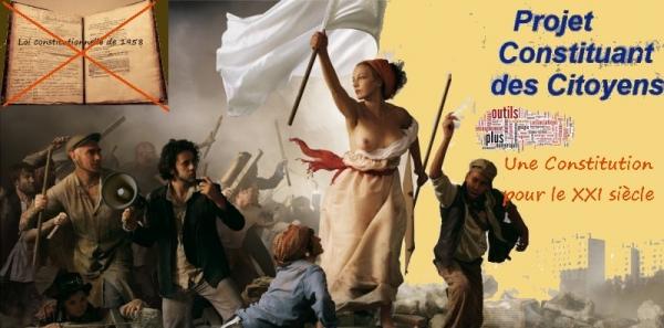 Pétition adressée aux citoyens français: Nous réclamons un référendum mettant en place une Assemblée Constituante