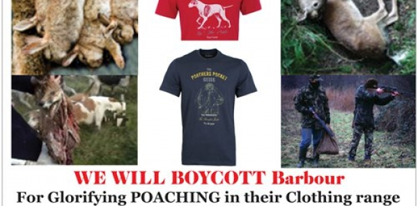 Paul Wilkinson, Director of Global Marketing, J. Barbour and Sons Ltd: Stop the use of the 'Poacher's Pocket Guide' designs in your clothing
