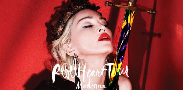 Time For Fun, Renner, Live Nation, Skol, Antarctica, Brahma: Nós fãs, merecemos a Rebel Heart Tour - Madonna