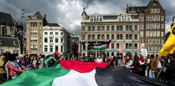 Nee, tegen samenwerking Amsterdam - Tel Aviv!
