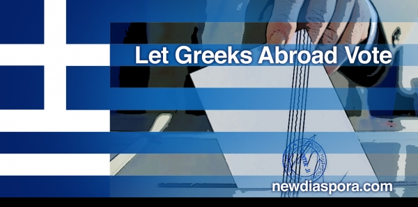 Greek President, Prime Minister, Parliament and Ministry of Interior: Let Greeks Abroad Vote