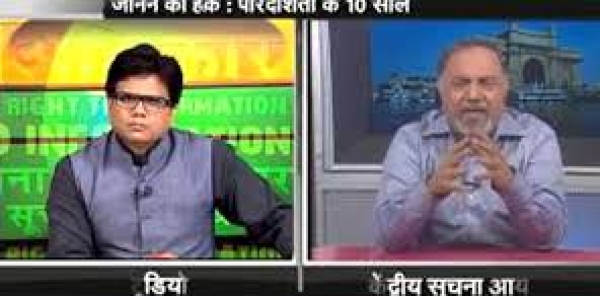Information and Broadcasting Minister Arun Jaitley : Resume DD TV SHOW - JANNE KA HAQ on RTI Act Now