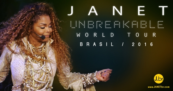 Janet Jackson –UNBREAKABLE World Tour Latin America / 2016