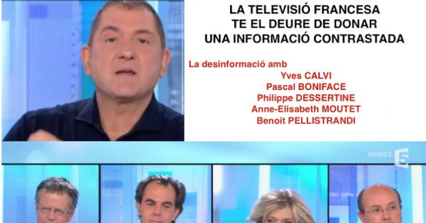 France Télévision: POUR UNE INFORMATION CONTRASTEE SUR LA CATALOGNE