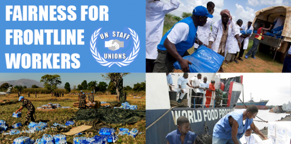 Protect UN humanitarian aid workers: reject cuts to pay and family leave