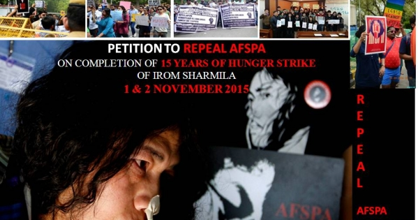 REPEAL Armed Forces Special Powers Act (AFSPA)