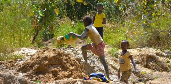 The electronics industry: Make a serious effort to eradicate child labour from goldmines.