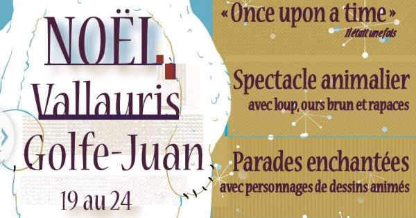 Madame Salucki, maire de Vallauris Golfe-Juan: Pour l'annulation du spectacle de Noël 2015 exhibant loup, ours et rapace