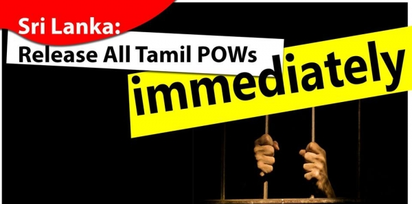 UN High Commissioner for Human Rights, the Honorable Zeid Ra'ad Al Hussein: Sri Lanka: Release All Tamil POWs immediately