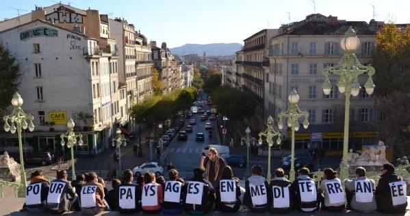 Contre la fermeture de l'ENSP Marseille !