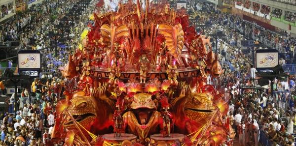 Organizações Globo: Transmissão de todos os desfiles na íntegra