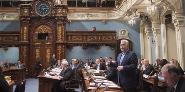Nous demandons la destitution du gouvernement de Philippe Couillard.