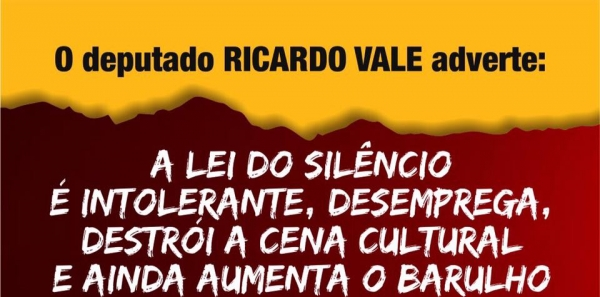 Aos filhos de Brasília : #MusicaNãoéBarulho Vamos modificar a Lei do Silêncio, aqui, instaurada!