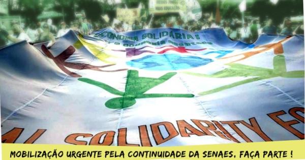 Presidenta Dilma: PelaManutenção da Secretaria Nacional de Economia Solidária