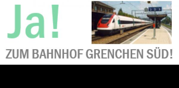 Bundesamt für Verkehr, Schweizerische Bundesbahnen SBB: Ja! zum Bahnhof Grenchen Süd