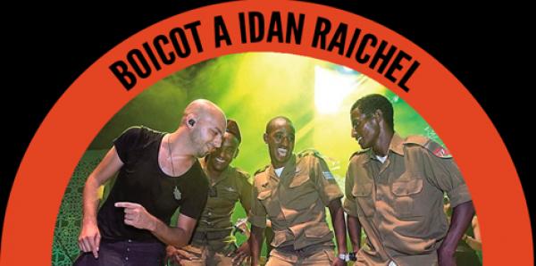 #YoNoEscuchoApartheid. No al concierto de Idan Raichel en la Sala Caracol.Boicot a Israel #BDS