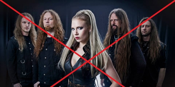 We want Leaves Eyes out of the Metal Female Voices Festival: Take them out of the festival.