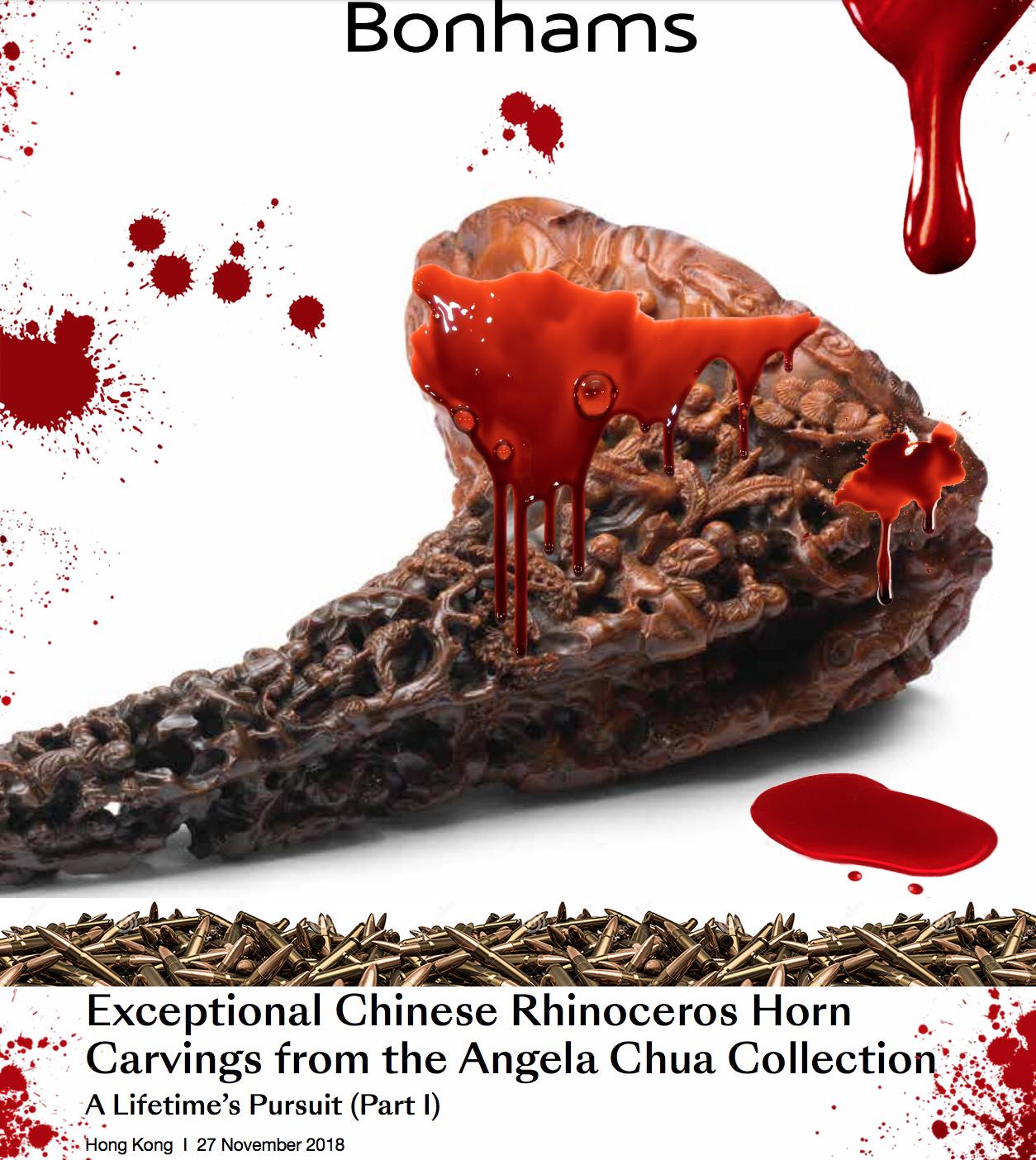 Bonhams STOPS all rhino horn sales!