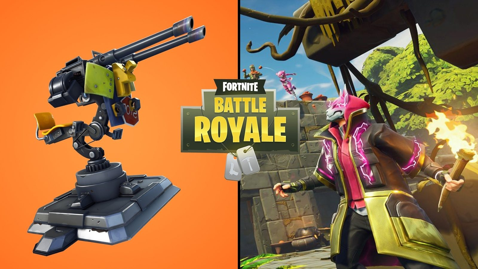 Epic Games: Remove Turret and Dynamite