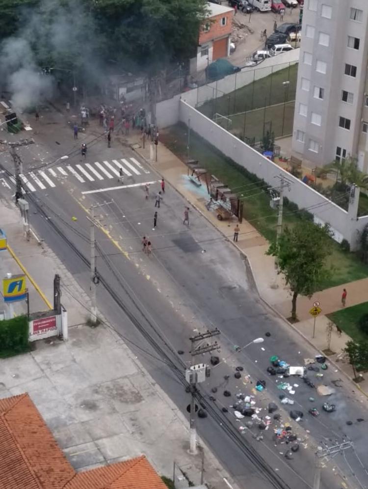 Subprefeitura de Pirituba: Reintegração de posse - favela do Spama