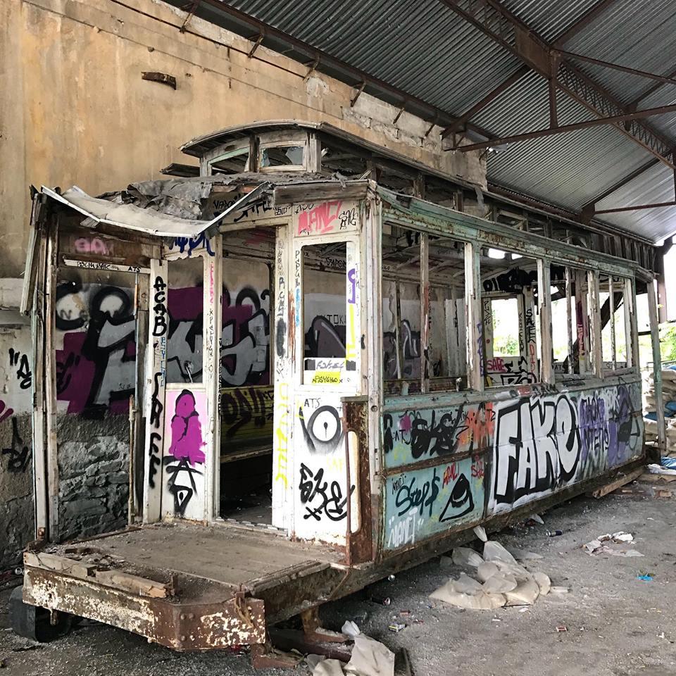 Σώστε τα 2 τελευταία βαγόνια του Τραμ Θεσσαλονίκης