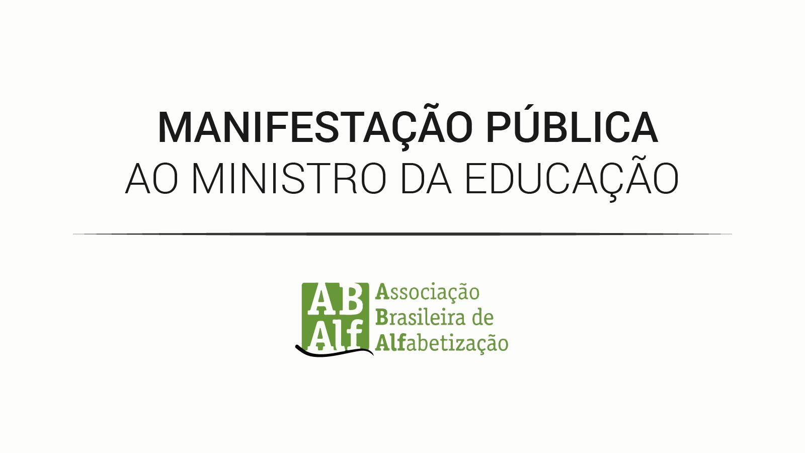 ABAlf - Associação Brasileira de Alfabetização: